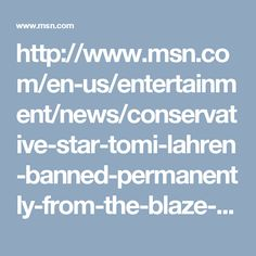 Tomi Lahren The Blaze Travel Ban