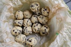 Brace Yourself Again | New and Improved Cookie Dough Truffles