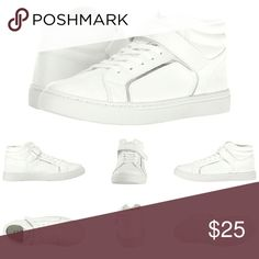 💋 New Hi Top Sneakers by Esprit 👟  Give your look a little attitude with these sleek sneakers. 🔴 Round toe 🔴 Faux-leather upper. 🔴 Metallic trim details. 🔴 Mid-top design. 🔴 Lace-up closure with hook-and-loop strap. 🔴 Padded tongue and collar. 🔴 Man-made lining. 🔴 Cushioned footbed. 🔴 Man-made outsole. 🔴 Imported. 🔴 MSRP : $45.00 👟 Open to reasonable offers.  Bundle to save on shipping! Esprit Shoes Athletic Shoes