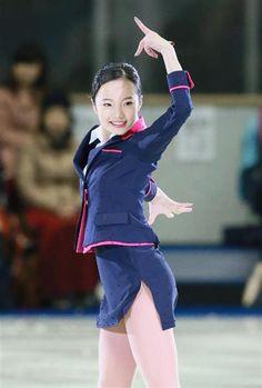 名古屋フィギュアスケートフェスティバルで華麗な演技を見せた本田真凜(松永渉平撮影)