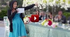 Awesome Maid of Honor Gives the Bride an Epic Surprise Speech - Funny Video