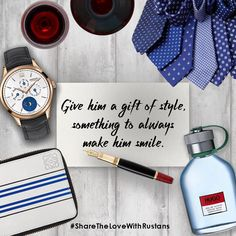 Make him smile this Valentine's Day with a stylish gift