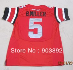 Aliexpress.com : Buy Mix order BIG patch Ohio State Buckeyes #5 Baxton Miller red ncaa football jerseys size 48 56 free shipping from Reliable football jersey size 48 suppliers on Shenzhen Sumdoon Technology Co., Ltd. $40.00