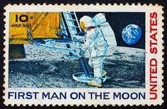 US Stamp - Apollo 11