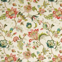 The G1121 Jewel upholstery fabric by KOVI Fabrics features Floral pattern and Red, Green, Pink as its colors. It is a Print, Made in USA, Linen type of upholstery fabric and it is made of 55% Linen, 45% Rayon material. It is rated Exceeds 15,000 double rubs (heavy duty) which makes this upholstery fabric ideal for residential, commercial and hospitality upholstery projects.For help please call 800-860-3105.