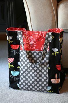 Jane market bag pattern