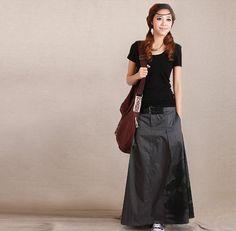 Original design loin skirt with pockets long by DressInHeavens, $71.00