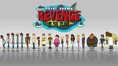 Total Drama Island Characters   Total Drama Revenge of the Island (TDROTI) TDROTI cast wallpaper