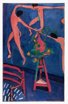 "Henri Matisse, <i>Nasturtiums and ""La Danse"" II</i> (1912). The Pushkin state Museum of Fine Arts, Moscow, ©Succession H. Matisse, Photo ©The Pushkin state Museum of Fine Arts, Moscow."