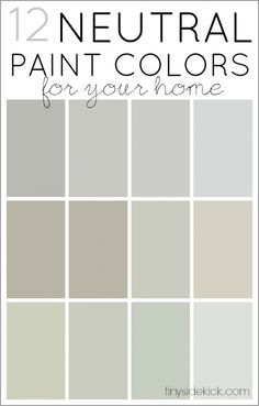 neutral colors help sell a house. Here is great information how to pick the right neutral for your rooms