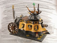 WrocWar: Showcase: Averland Steam Tank