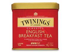 English Breakfast Loose Tea Caddy (International Blend) - 100g
