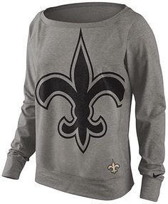 Nike Women's Sweatshirt, NFL Dri-FIT New Orleans Saints.. I WANT THIS!!!
