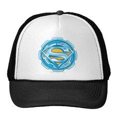 Superman S-Shield | Gear Logo. Producto disponible en tienda Zazzle. Accesorios, moda. Product available in Zazzle store. Fashion Accessories. Regalos, Gifts. #gorra #hat #heroe #hero #american