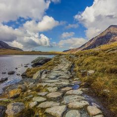 Pathway To Heaven by Ian Mitchell Snowdonia National Park, Bubble Art, Beautiful Artwork, Pathways, Amazing Photography, Fine Art America, National Parks, Heaven, Mountains