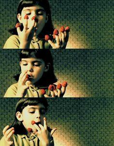 Amelie e os prazeres da vida.