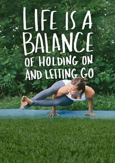 Be your best self and live a life of balance. #StartWithBalance