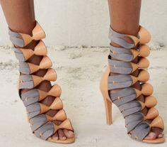 Fashionable shoes:  Balenciaga Pre-Spring 2013