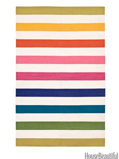 Versa: As colorful as candied fruit, it will cheer up any space.