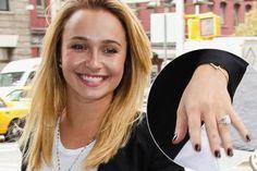 Hayden Panettiere Engagement Ring #HaydenPanettiere #Wedding