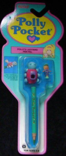 1992 Pencil Set Vintage Polly Pocket Pen Pal Lady Bug Safari (Retired and Collectible) by BlueBird, http://www.amazon.com/dp/B00A26KU7A/ref=cm_sw_r_pi_dp_rL4Nqb0MG5YAY