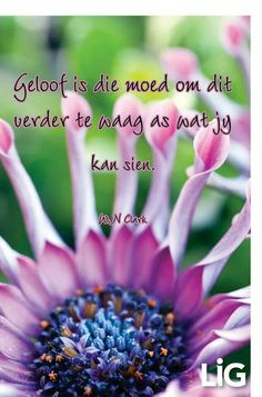 Geloof is die moed om dit verder te waag as wat jy kan sien. Bible Quotes, Bible Verses, Qoutes, Good Morning Inspirational Quotes, Uplifting Quotes, Afrikaanse Quotes, My Bible, My Land, Religious Quotes