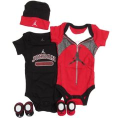 Jordan Baby 5 Piece Athletic Warmup Outfit Set (0-6 months)