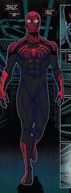Spiderman Suits, Spiderman Art, Marvel Art, Marvel Heroes, Superhero Characters, Fictional Characters, Mythical Creatures Art, Superhero Design, Marvel Cosplay