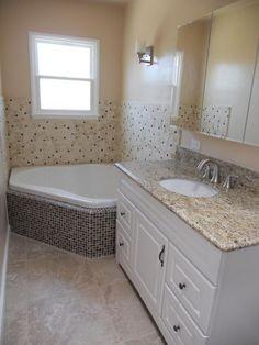 corner tub under window| DIY-small/narrow bathroom - Bathroom Designs - Decorating Ideas - HGTV ...