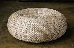 straw stool table - Google Search