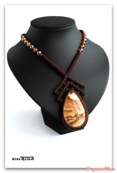 Bead Jewellery, Beaded Jewelry, Jewelery, Geometric Necklace, Geometric Jewelry, Beading Projects, Beading Tutorials, Seed Bead Necklace, Beaded Necklace