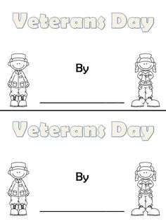 Veterans Day Booklet
