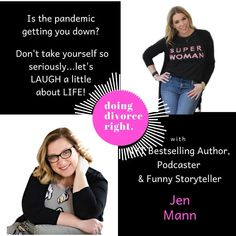 Tune in when Podcast Host and Best Selling Author, Jennifer Hurvitz interviews NYT BEST SELLER, Jen Mann! Full episode on jenniferhurvitz.com
