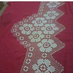 Alıntı Crochet Bedspread Pattern, Cross Stitch Flowers, Filet Crochet, Diy And Crafts, Blanket, Lace, Handmade, Crocheting, Linen Tablecloth