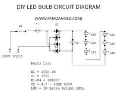 led lamp circuit circuitdiagram org pinterest led rh pinterest com circuit diagram of philips led bulb circuit diagram of 9w led bulb