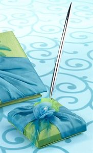 Set de Bolígrafo Azul y Verde