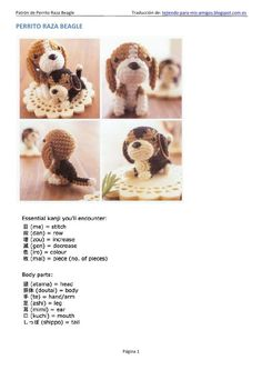 Interesting Beagle Friendly Loyal And Loving Ideas. Glorious Beagle Friendly Loyal And Loving Ideas. Crochet Amigurumi, Amigurumi Patterns, Amigurumi Doll, Crochet Dolls, Crochet Patterns, Crochet Gifts, Diy Crochet, Handmade Dog Collars, Dog Items