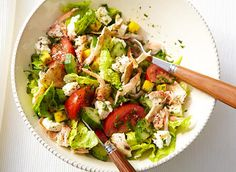 Fattoush Revisited with Crab and Feta Recipe