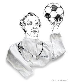 Craque do Cruzeiro e tricampeão em 70, Tostão é hoje um dos principais colunistas esportivos do Brasil. Em suas colunas no jornal Folha de S. Paulo, frequentemente aproveita o futebol para entrar em questões éticas e políticas.