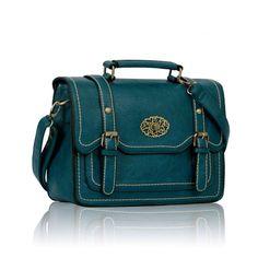 Teal fashion satchel