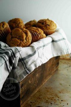 Multigrain chocolate chip muffins (dairy-free, very low gluten, low sugar, no white flour) #healthy