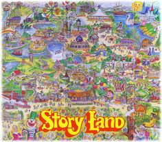 Story Land- New Hampshire New Hampshire Attractions, Theme Park Map, White Mountain National Forest, Our Adventure Book, New England Travel, Interesting Reads, Amusement Park, Peace And Love, Landing