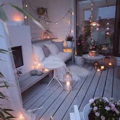 60 chic balcony decor ideas for every home - Balkon Ideen - Balcony Furniture Design Outdoor Spaces, Outdoor Living, Outdoor Decor, Winter Balkon, Small Balcony Decor, Balcony Ideas, Small Balcony Furniture, Balkon Design, Dream Rooms