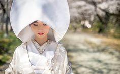 美しすぎる日本髪♡花嫁和装にぴったりの『綿帽子』と『角隠し』をお勉強♩ Wedding Photos, Raincoat, Kimono, Kawaii, Japan, Bridal, Clothes, Dresses, Weddings