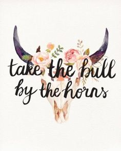 """Don't take the bull by the horns, take him by the tail; then you can let go when you want to."" Josh Billings #quoteoftheday #thursdaywisdom"
