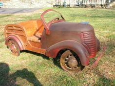 1939 pedal car Mercury Woody Wagon.