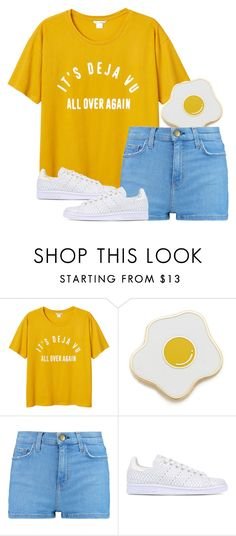 """""""SUMMER"""" by amandatripton ❤ liked on Polyvore featuring Monki, Georgia Perry, Current/Elliott, adidas Originals, Summer, summerstyle, summerbrights and summer2016"""