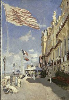 Hôtel des Roches Noires. TrouvilleClaude MONET, 1870 Huile sur toile, 81 x 58