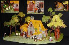 Discworld: Granny Weatherwax's Cottage (Diorama) Custom Diorama / Playset