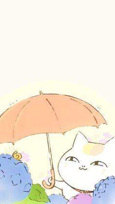 I feel like I should make a board for Nyanko Sensei, he is pretty cool, also badass and bitches quite a lot, it's funny though, never a dull moment haha. Anime Neko, Manga Anime, Anime Art, Natsume Takashi, Nyan Nyan, Hotarubi No Mori, Natsume Yuujinchou, Fanart, My Spirit Animal
